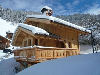 Beautiful New Chalet With Amazing Views Over The