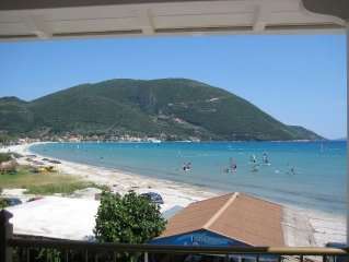 Luxury Beach Villa /Apartment, Waterfront, Sea Views Vassiliki Lefkada