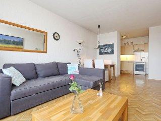 Comfortabel appartement op 100 meter van strand en zee