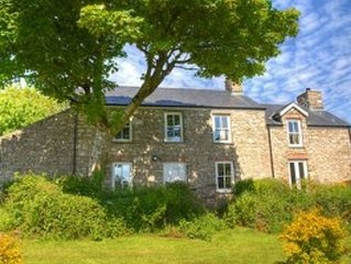 Traditional Detached Stone Farmhouse In West Pembrokeshire, Wales United Kingdom