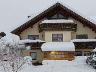 Spacious apartments in top ski Zugspitzarena