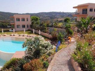 Kefalos: superbe appartement dans une résidence privée, domaine de 7.000m² avec