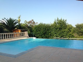 Secluded Villa With Large Pool And Grounds, Five Bedrooms Sleeps 9-12