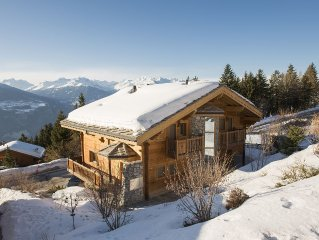 Private luxury family friendly chalet in Anzère 6 bedrooms, 6 bathrooms sleep 12