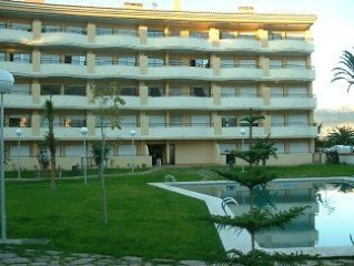 Luxury First Floor Aparment with Communal Pool and Garden
