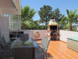 Modern apartment with large terrace 30m2 in residence with large swimming pool
