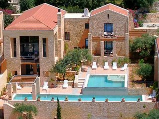 Artemis - Luxury Villa - 2 Private Pools - Maid S