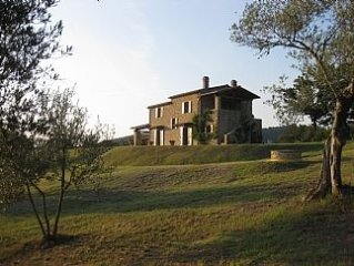 Restored Farmhouse with Private Pool and Panoramic Views