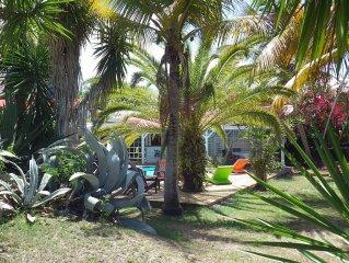 Belle Villa, accès direct à la plage,  70 avis  ***** vue d'exception