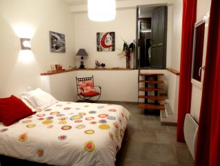 Bastia,hauts residentiels, magnifiqueT3,parking,vue superbe,jardin verdoy calme