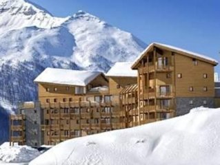 Appartement T3 dans residence 3* - 6 pers - coeur station - 150m pistes - Garage