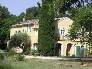 Provencal Farmhouse surrounded by vines