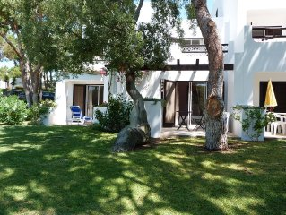 3 bedrooms in Balaia Golf Village with South facing patios and Balconies
