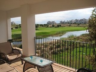 Front Line Golf, Luxury Apartment, Full Air Con, Extra Large Balcony