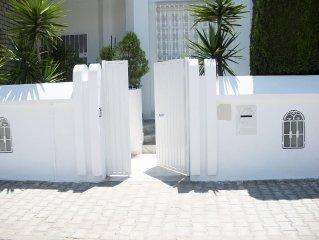 Wonderful Villa, private pool garden over the mediterranean sea -Nabeul -Tunisia
