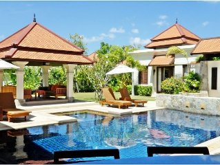Beautiful 5 bedroom villa - a peaceful oasis to completely relax in