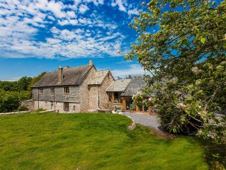 Manor House,16th Century, Grade 2 Listed, Character property,Edge of Dartmoor