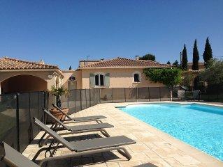Belle villa avec piscine en Provence