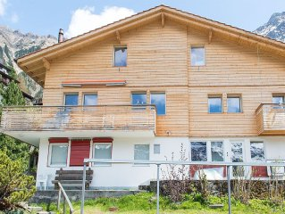 Wonderful and tranquil Maisonette in Wengen with magical views!!