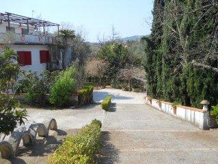 Villa Immersa nel verde del parco nazionale del cilento a Palinuro