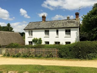 New Forest Country Cottage In Peaceful Location