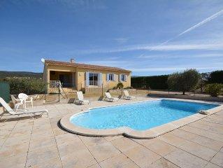 Gîte 6 pers tout confort, en Provence au coeur du Luberon avec piscine sécurisée