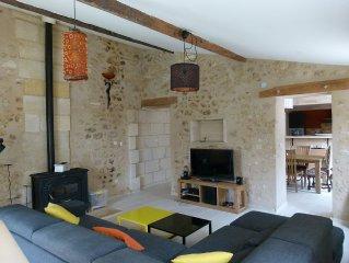 Maison de ville dans environnement calme et verdoyant à 10mn de Bordeaux centre