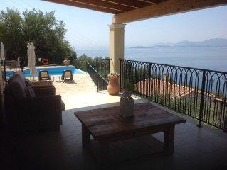 Villa Amphithea Luxury villa, stunning sea views private infinity pool