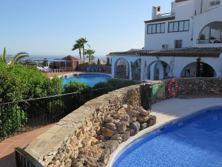 Detached  3 Bed Villa With Private Garden,Communal Pools And Sea/mountain view