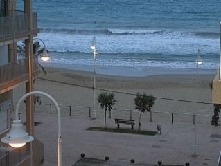 Apartment in Guardamar, Costa Blanca, By The Beach With Sea Views