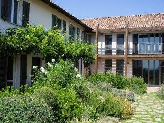 Stunning Architect-designed restored Farmhouse near Asti, Piedmont