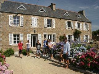 Grande demeure bretonne jusqu'à 18 personnes