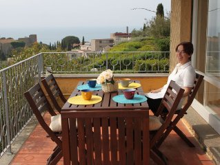 Stunning sea view holiday apartment in Tuscany