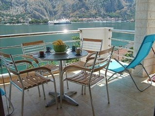 New, Luxury Apartment With Spectacular  Views Over Kotor Bay