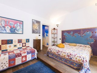 Beautiful apartment with garden in  the centre of Rome, free internet connection
