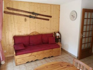 Serre Chevalier apartment in residence close to the slopes