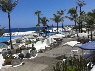 Apartamento céntrico en Puerto Cruz 50m playa y lagos martianez Ed. Bahamas wifi