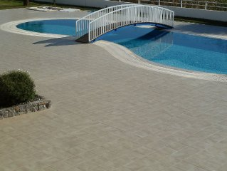 Large Villa Apartment 4 Double Bedrooms Superb Pool Lovely Outlook Near Beach