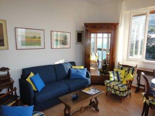 Appartamento 2-5 persone splendida posizione grande terrazza