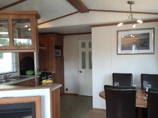 Luxury caravan located with in the stunning  5*site at Finlake, Devon