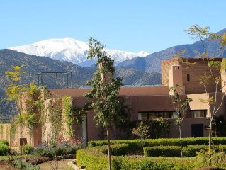 Breathtaking Atlas Mountain views only an hour away from Marrakech