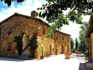 Bilocale (2+2) in residence con 8 appartamenti in Val d'Orcia - Toscana