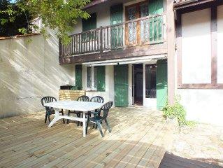 Villa-patio calme proche de l'océan