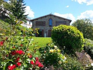 Casa vacanza in Toscana con splendida vista sulle vallate del Mugello