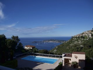 Comfortable 2 Bedroom Apartment in Balcons D'Eze With Access To Swimming Pool