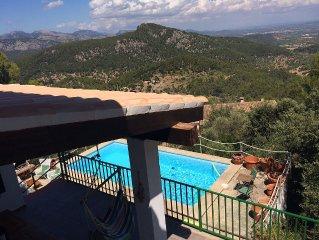 Fantastisch (familie) huis met zwembad en een prachtig uitzicht over het eiland