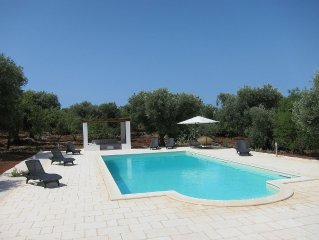 Beautifully renovated Trulli with stunning swimming pool (12M x 6M)