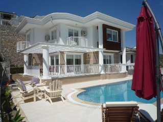 Beautiful Detached Villa With Private Pool And Stunning Views, Walkable to Town.