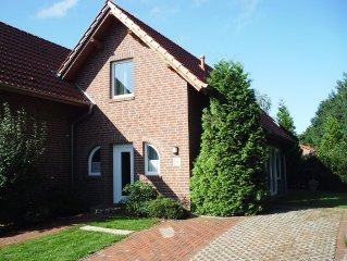Mooie 4-pers.woning met 2 slaapkamers  dichtbij Dankern See (55/75 Euro p.n)