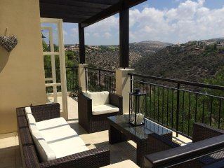 Luxury 3 bed villa, 5 mins to all resort facilities. Next to the pool.